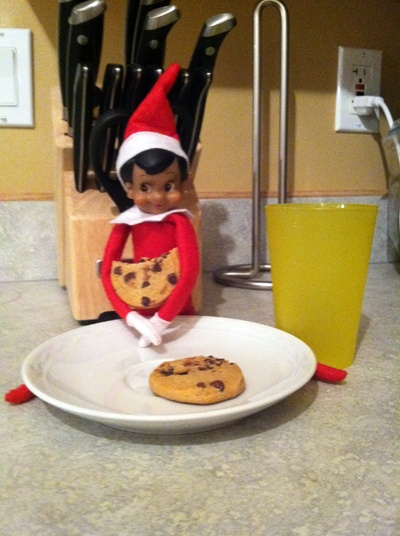 A few Elf on the Shelf ideas that were big hits this year with my kids.