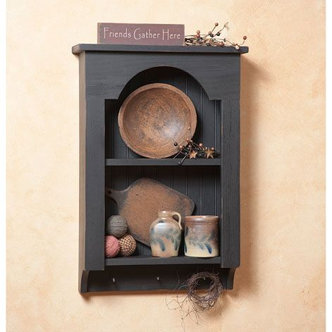 Tombstone Wooden Wall Shelves