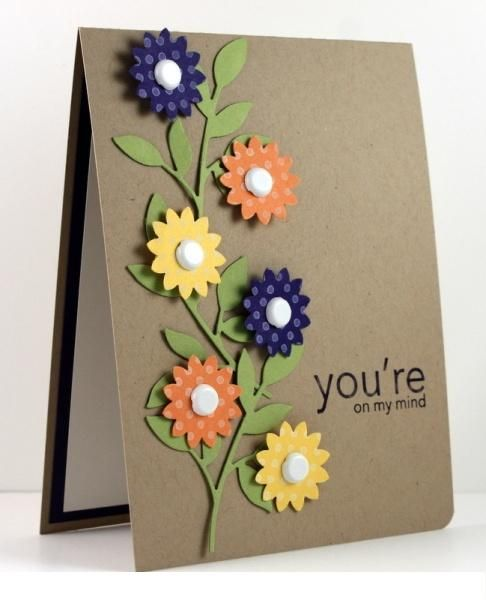 Authentic handmade decorating cards trendy mods com cards pinterest cards wedding and - Handmade decorative ideas for home ...