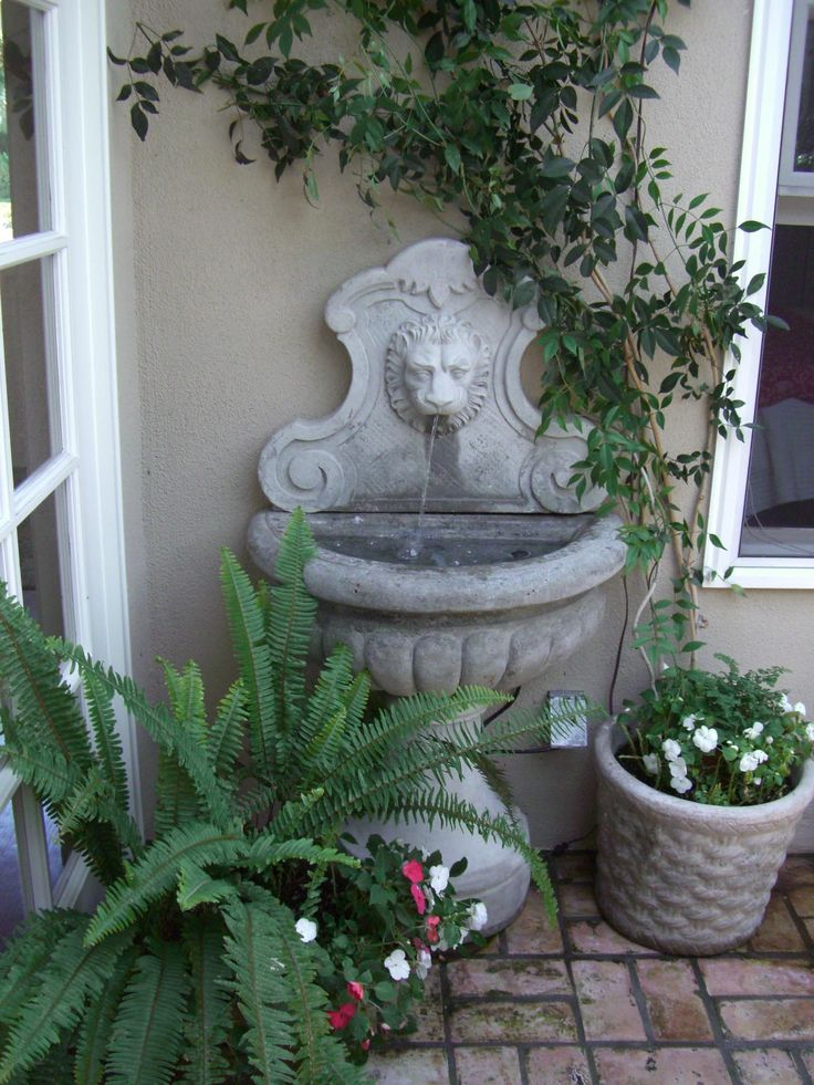 Water Fountain in Home Outdoor Fountains