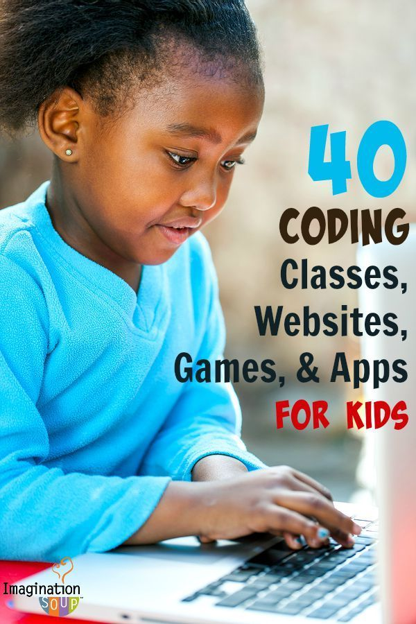 40 coding classes, websites, games, and apps for kids -- these are GREAT!