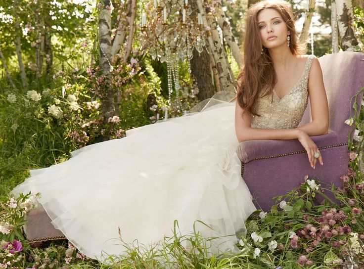 Bridal Gowns, Wedding Dresses by Jim Hjelm – Style jh8364 – #bridal #dresses #go…