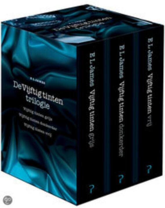 50 tinten trilogie meegedaan met de hype....viel een beetje tegen:-)