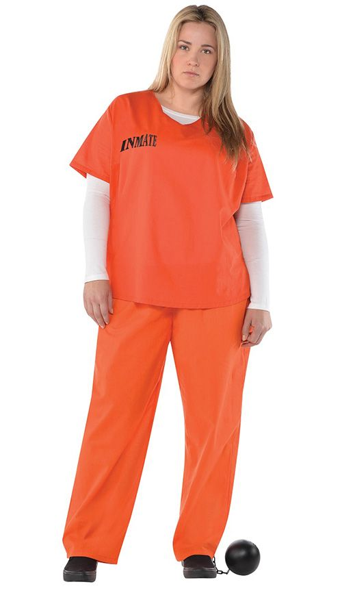 Whether you want to channel Daya or Gloria from Orange is the New Black, this inmate costume is great when you are feeling lazy and just don't want to put in that much effort for Halloween. Inmate Costume, $29.45, amazon.com.