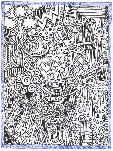 winning entry in the National doodle day competition #doodles