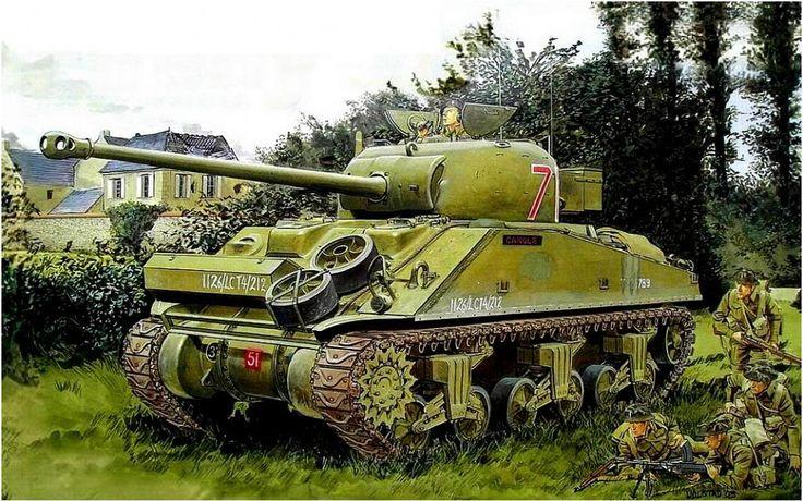 British Sherman Fire Fly