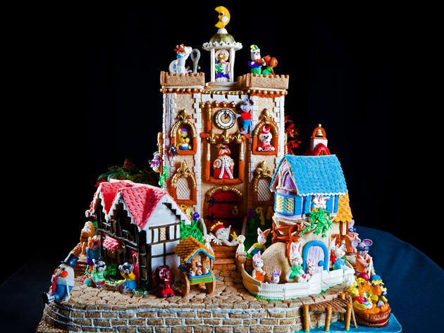 15 Gingerbread Houses You'll Want to Live Inside >> http://www.frontdoor.com/coolhouses/15-gingerbread-houses-youll-want-to-live-inside?soc=pinterest