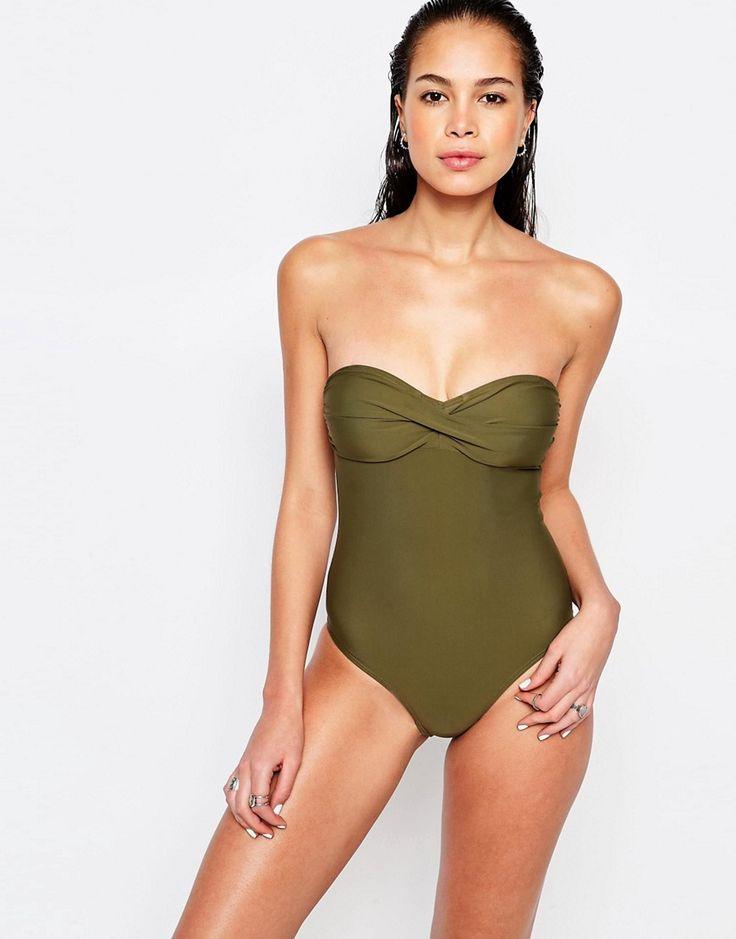 Vero Moda Twist Detail Swimsuit