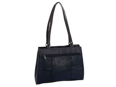 This Embassy Solid Genuine Lambskin Leather Purse is stylish and supple, with plenty of storage for all your everyday must haves!