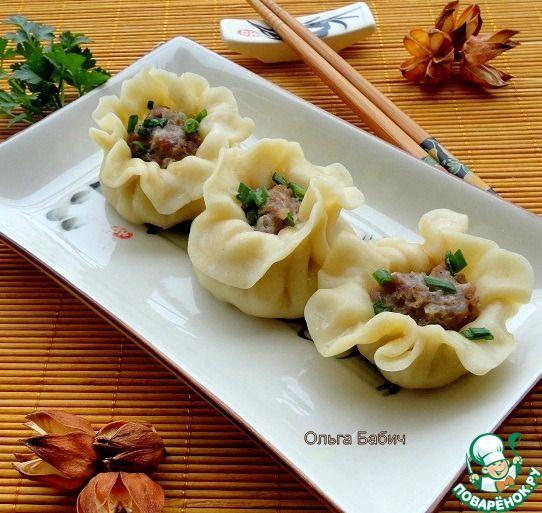 Цзяоцзы - китайские пельмени - кулинарный рецепт