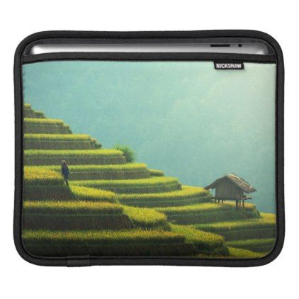 #China agriculture rice harvest sleeve for iPads - #country gifts style diy gift ideas