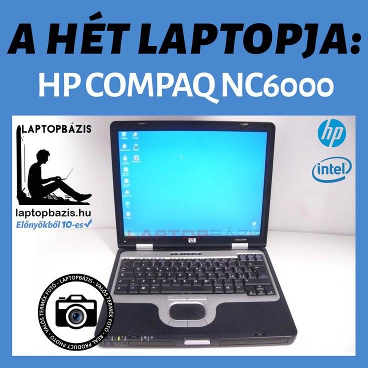 A HÉT LAPTOPJA: HP COMPAQ NC6000 AKCIÓS ÁR: 16.900FT HP Compaq nc6000 használt laptop kedvező áron. Otthoni felhasználásra, internet böngészésre, levelezésre kiválóan alkalmas. Beépített WIFI-vel nem rendelkezik, így webböngészésre kizárólag vezetékes internetkapcsolattal használható. Csendes megbízható laptop műanyag burkolattal, erős, tartós és strapabíró. Magyar nyelvű Windows operációs rendszere használatra kész.  http://laptopbazis.hu/hp-compaq-nc6000-laptop-intel-pentium-m-ati-radeon-9