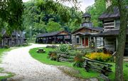 Heritage Farm Museum and Village is a great place to celebrate Appalachian heritage. The museum has guided tours available and you can stay in one of the log homes on the property. A great way to teach kids about West Virginia history.