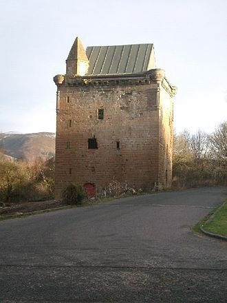 Sauchie Tower, also known as Devon Tower, is a 15th-century tower house in Clackmannanshire, Scotland. The tower is located by the village of Fishcross, north of Alloa, close to the River Devon. The lands of Sauchie were granted by King Robert the Bruce to Henri de Annand, Sheriff of Clackmannan, in 1321. It was demolished in 1961.