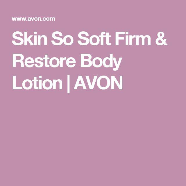 Skin So Soft Firm & Restore Body Lotion   AVON