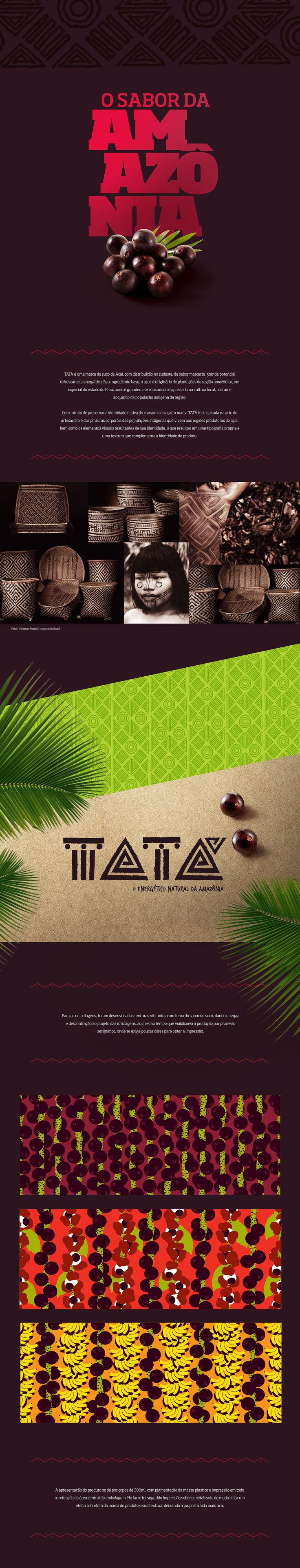 Açaí Tatá on Behance