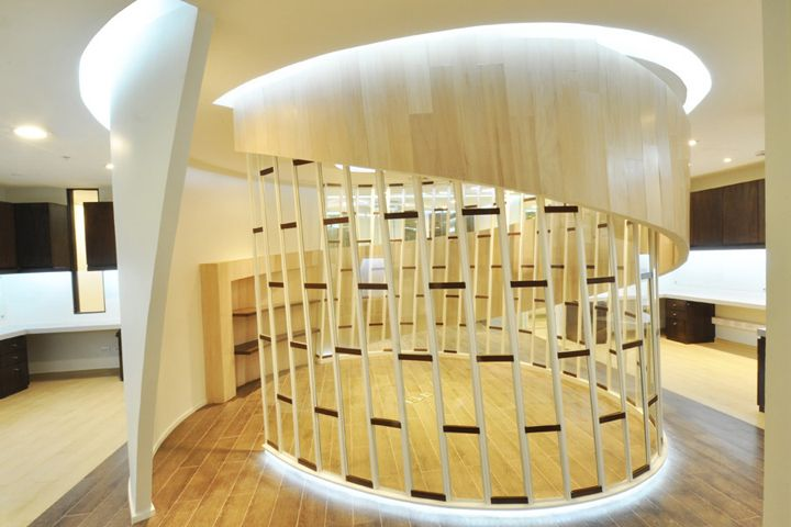 Mujeres Empresarias Headquarters Offices by Grupo Arquitectos, Santiago   Chile office 2