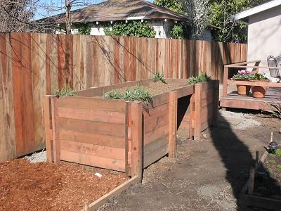 Vegetable Garden Boxes Layout