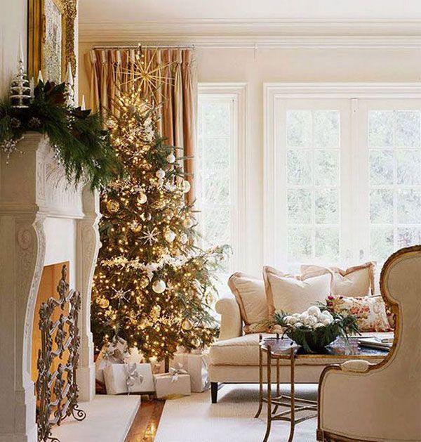 Holiday Decorations Ideas Part - 45: Silver And Gold Holiday Decorations | Holiday Decorating1 10 Simple Secrets  To Successful Holiday Decorating