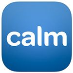 Calm App is a free iPhone app that can guide your meditation with relaxing nature scenes.