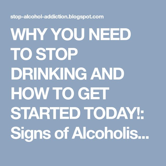 how to help stop drinking alcohol