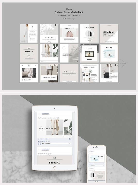 76 best + social media \u2014 marketing templates images on Pinterest