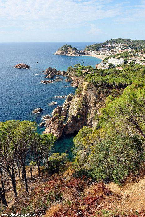 Hiszpania, widok na Tossa de Mar - Costa Brava