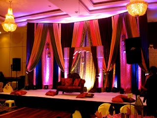 "Bollywood meets Moroccan stage & backdrop for our ""Mehndi ..."