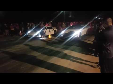Nissan GTR R35 street race against Porsche 911 Turbo S