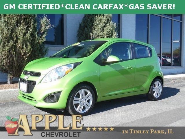 2014 Chevrolet Spark 1 LT - Certified - Stk # 61119 - $9,772 -http://www.applechevy.com/VehicleDetails/certified-2014-Chevrolet-Spark-LT-Tinley_Park-IL/2874451873