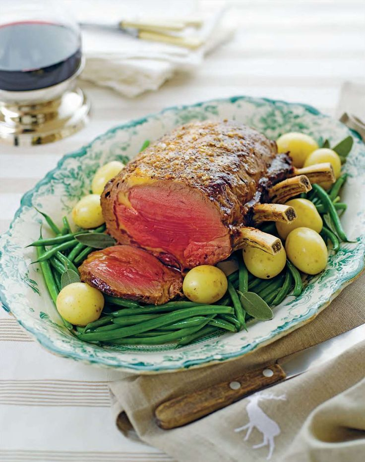 Roast rib of beef by Margaret Fulton from The 12 Days of Christmas | Cooked
