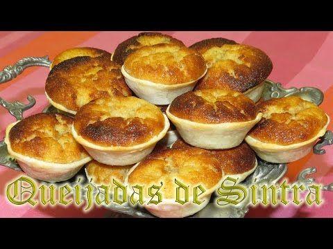 Queijadas de Sintra - doces regionais - YouTube