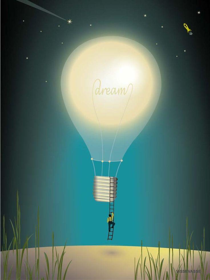 Vissevasse dreaming plakat