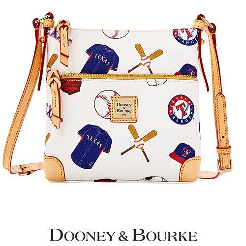 Texas Rangers Letter Carrier Crossbody Bag by Dooney & Bourke - MLB.com Shop