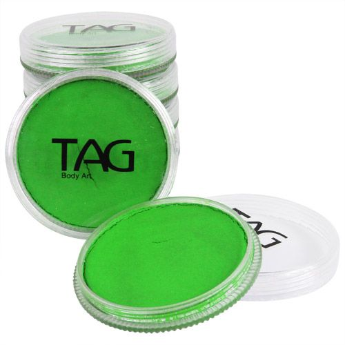 TAG Neon Green Face Paint