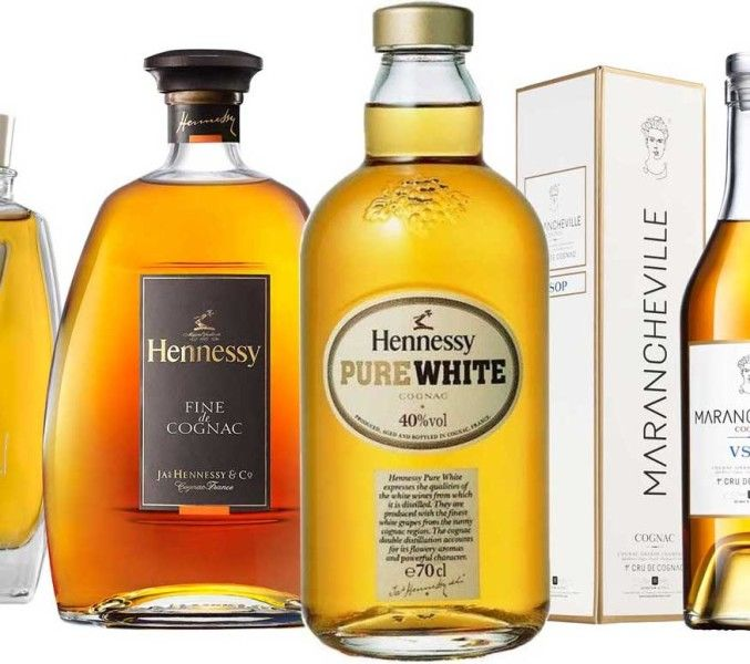 Here's a list of Cognacs to drink when you can't get Hennessy Pure White. The popular smooth pale Cognac is only marketed in the Caribbean–time for some alternatives!
