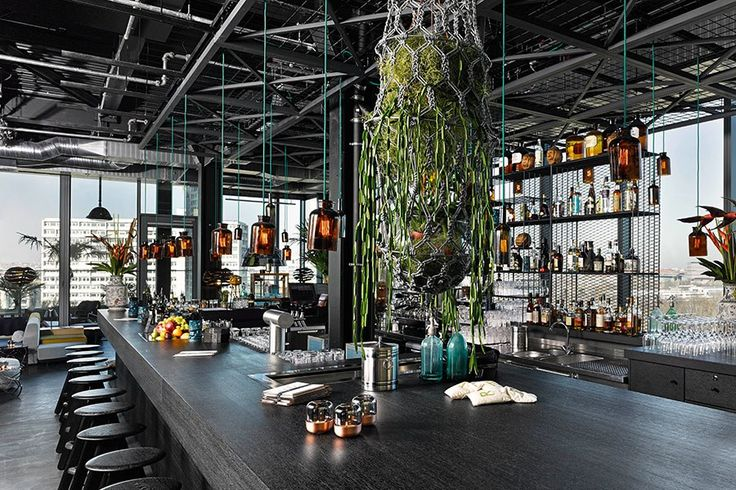 Ten Spectacular Rooftop Bars and Lounges Photos | Architectural Digest