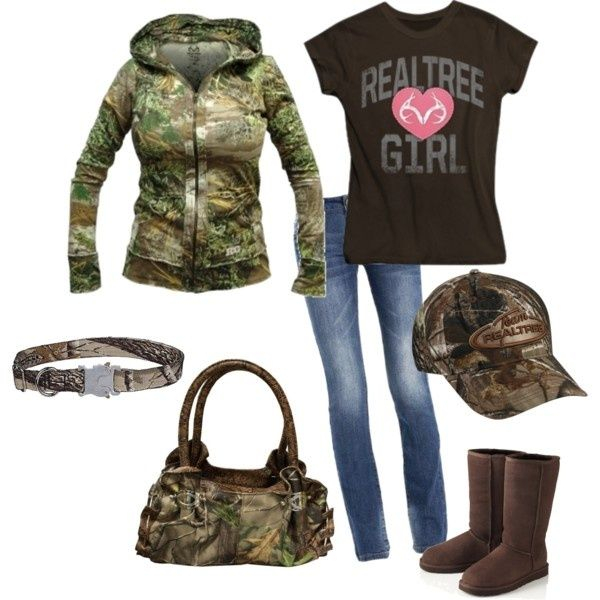 Realtree Camo Wear...would love it even more if it had pink!!