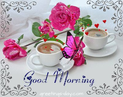#GoodDayWishes, #GOODMORNING, #MorningMessages #GIF #Animated_Gif #Good_Morning http://greetings-day.com/sweet-good-morning-pics-messages.html Sweet Good Morning Animated  Pics and Messages