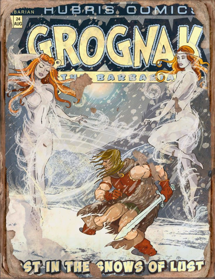 Grognak August Issue Book - Fallout 4 by PlanK-69 on DeviantArt