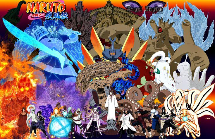 Jubi And Jinchuriki Naruto Shippuden Wallpaper 227 Wus Yuri Pinterest Anime Naruto