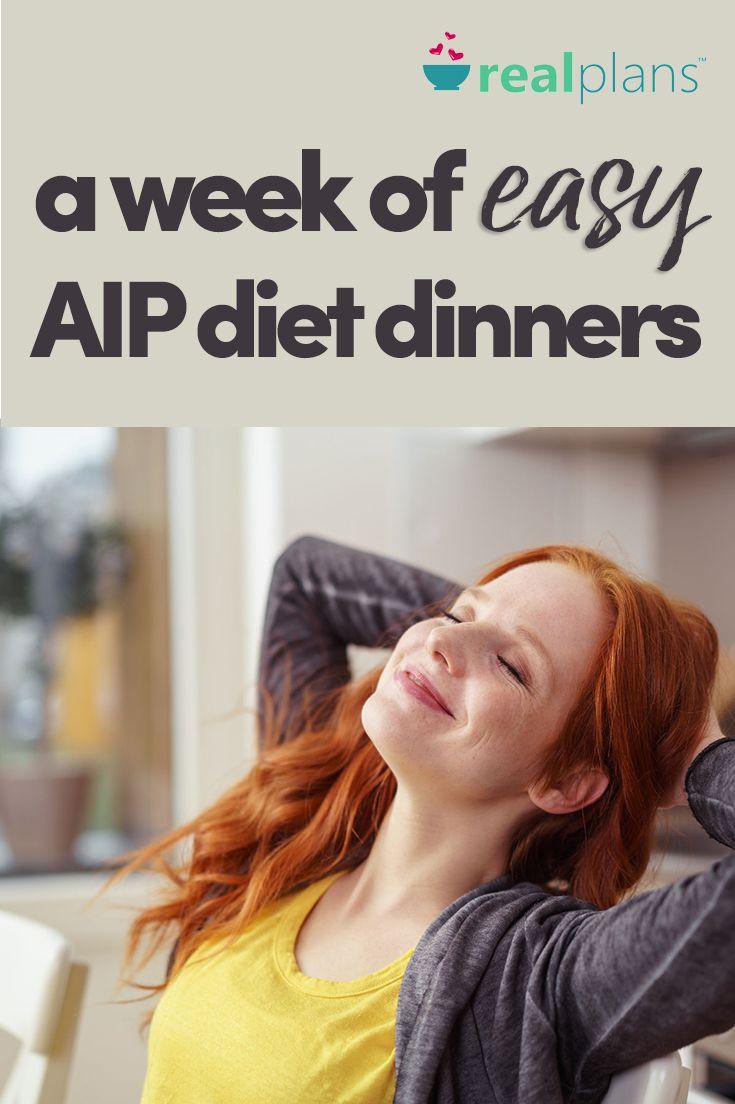 A Week Of Easy AIP Diet Dinners - https://realplans.com/blog/easy-aip-diet-dinners/
