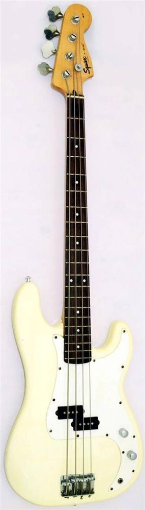 FENDER SQUIER P - BASS AFFINITY SERIES 20th ANNIVERSARY PRECISION BASS GUITAR #SquierByFender #PrecisionBass