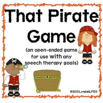 That Pirate Game (open ended card game)  Created by LyndaSLP123 $