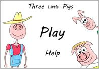 3 Little Pigs Interactive Story