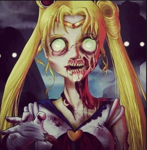 Zombie Sailor Moon!