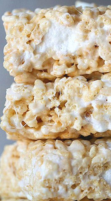 Perfect Rice Krispie Treat...so simple, so good!