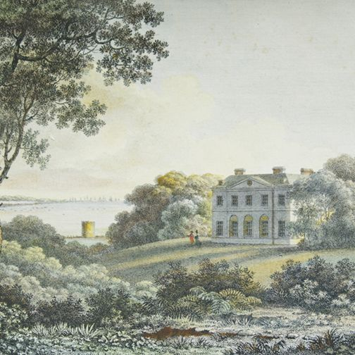 Capability Brown produced design for Cadland for Robert Drummond