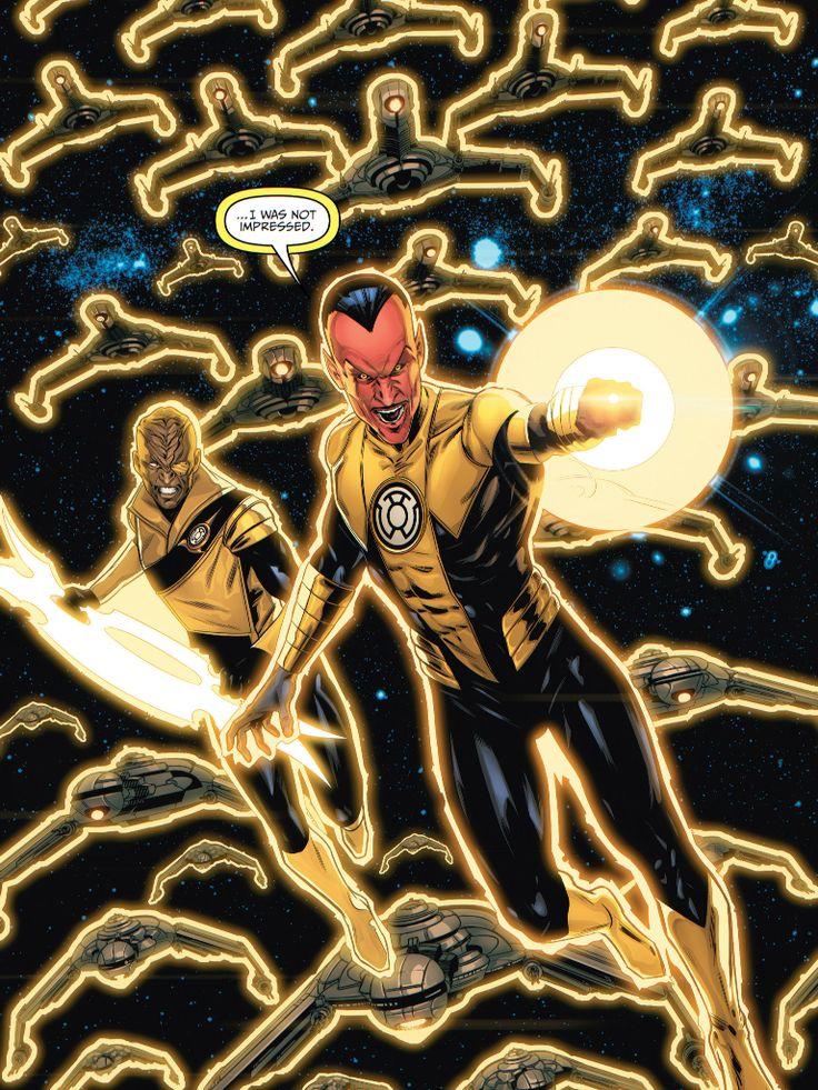 Sinestro Green lantern corps, Yellow lantern, Dc villains
