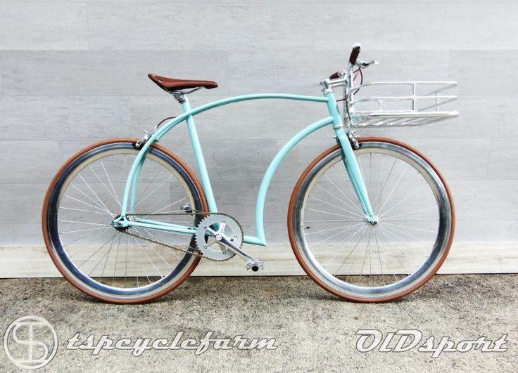 "Bici Bicicletta Ctb Citybike Retrò Vintage Cruiser 28"" Uomo Old Sport 40's TSP…"